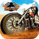 verrückt Motorrad