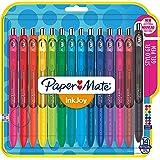 Paper Mate 1985481 InkJoy Lot de 14 Stylos gel pointe moyenne Couleurs Assorties