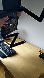 Aire de enfriamiento silencioso Ideal para Viajes en Coche Ventilador Personal de Mesa de Escritorio peque/ño con 3 velocidades Serie De Nieve MATEPROX Ventilador de Escritorio USB,