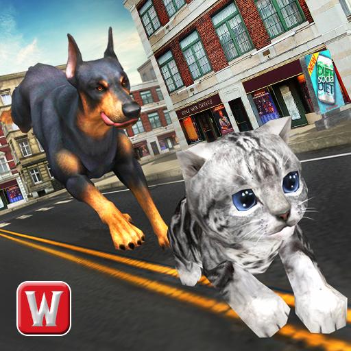 Dog vs Cat Survival Fight Game