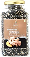 Flyberry Gourmet Dehydrated Ginger Chunk with Sesame, 200g 500g