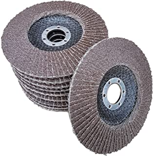 DE  10x 50mm  80 GritSchleifscheiben Polieren Rost entfernen für Winkelschleifer