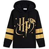 Harry Potter Hoodies, Black Hoodie for Girls and Teens, Official Merchandise