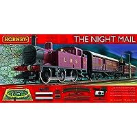 Hornby R1144 LMS Night Mail 00 Gauge Electric Model Train Set