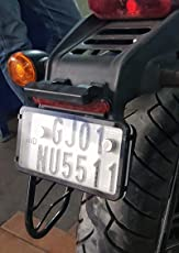 Safeplate Number Plate Protector for Bike (Front-Rear)