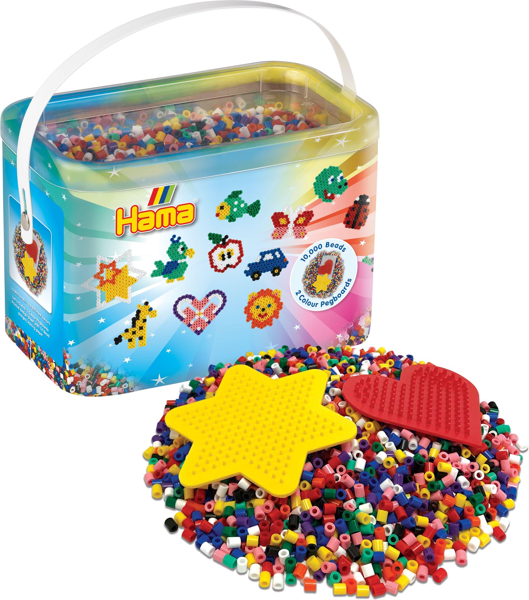 x1000 Perles /à repasser Hama MIDI 5 mm Vert n/°10