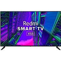 Redmi 139 cm (55 inches) 4K Ultra HD Android Smart LED TV X55 L55M6-RA (Black) (2021 Model)