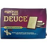 Britannia Deuce Pure Magic Biscuits - White Choco, 60g Pack