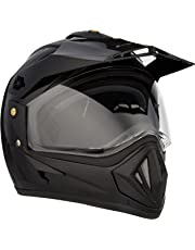 Vega Off Road OR-D/V-K_L Full Face Helmet (Black, L)