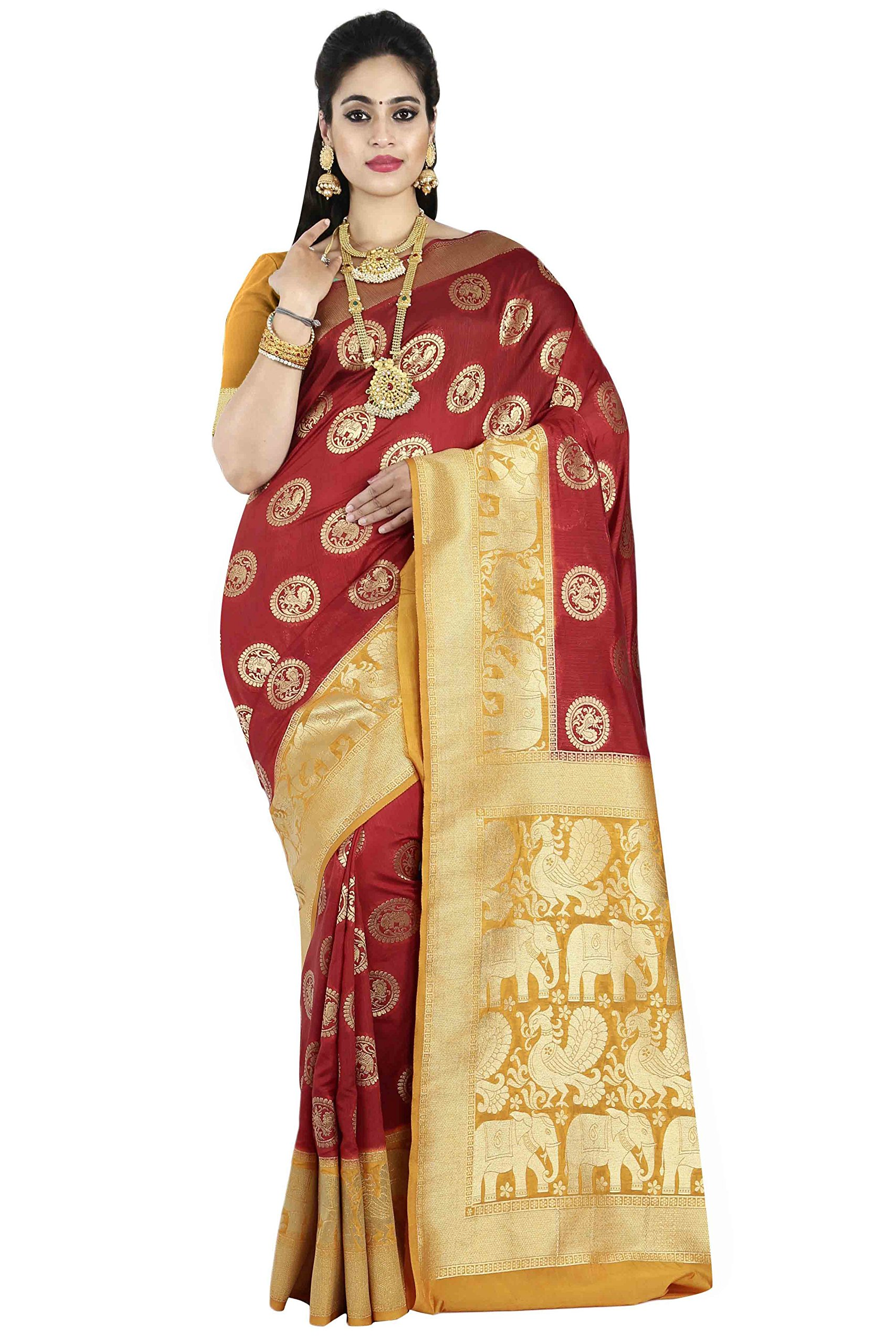 c31ac483cc arars Women's Kanchipuram silk saree wedding collections (220 ...