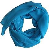 Dolce Abbraccio Sciarpa da donna Stola foulard in chiffon per primavera estate tutto l'anno