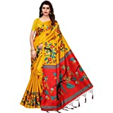 Oomph! Women's Satin Plain Sarees Satin Plain Satin