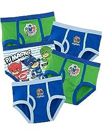 PJ Masks Ropa Interior para niños Aventuras en Pijamas - Paquete de 5