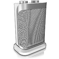 Brandson - Heizlüfter mit Zwei Leistungsstufen - Heizlüfter Badezimmer energiesparend leise - stufenlose…