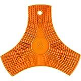 BRA Salvamanteles, Silicona, Naranja, 2 unidades