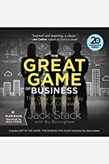 The Great Game of Business, Expanded and Updated: The Only Sensible Way to Run a Company Audible Audiobook