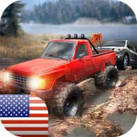 Driving Tow Truck: Cars Rescue - help drivers!