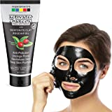Organix Mantra Activated Charcoal Peel Off Mask 120ml, Deep Cleansing Mask, Deep Pore Cleanse for Acne, Oil Control, and…