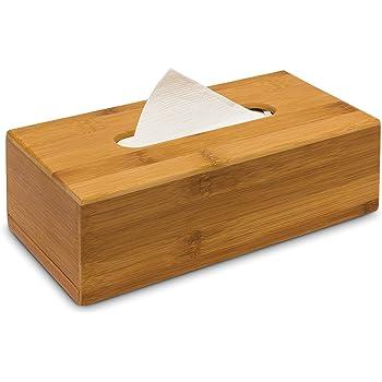 Zeller 25305 Kosmetiktucher Box Bamboo L 27 5 X B 15 5 X H 8 5 Cm