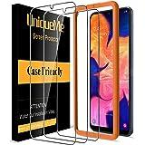 [3 Pack] UniqueMe Protector de Pantalla para Samsung Galaxy A10, Vidrio Templado [ 9H Dureza ] [Sin Burbujas] HD Film Cristal