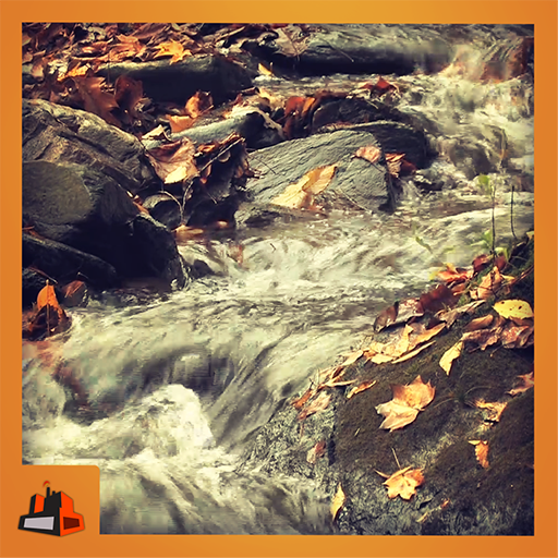 Autumnfall - Enjoy the auntumn with beautiful waterfall