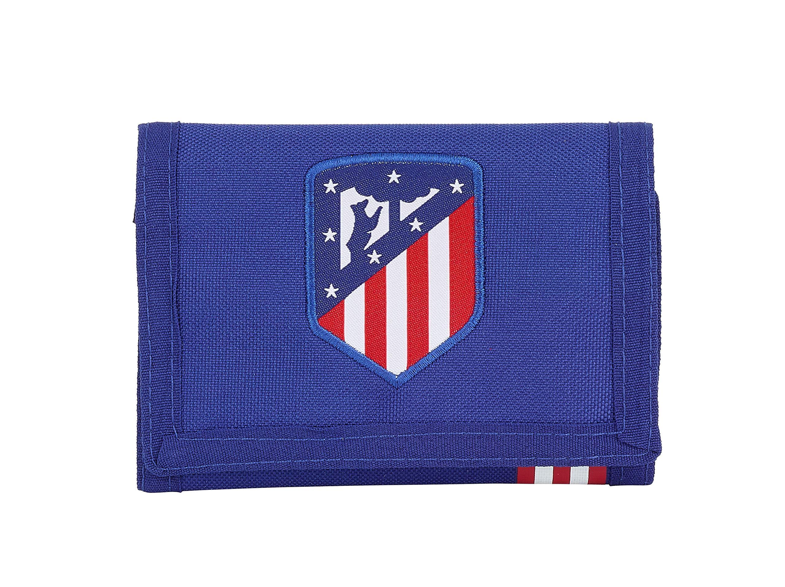 Atletico De Madrid Atlético de Madrid «In Blue» Oficial Cartera Billetera