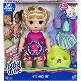 Hasbro Baby Alive Potty Dance Baby: Talking Baby Doll with Blonde Hair