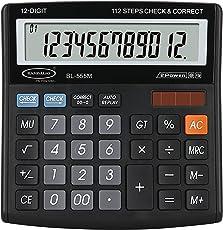 Bambalio BL-555M 12 Digit Large Display Electronic Calculator
