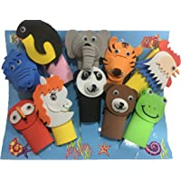 TWISHA Eva Finger Puppet Animal (Multicolour)