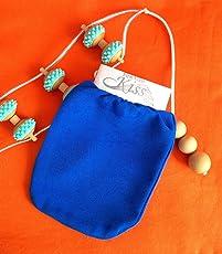 First Class Kiss ozeanblau ~ Keese ~ Peelinghandschuh für sensible Haut