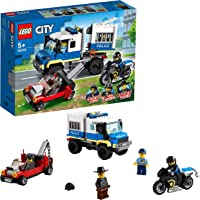 LEGO Police Prisoner Transport Building Blocks for 5 Years and Above
