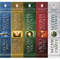 George R. R. Martin's A Game of Thrones 5-Book Boxed Set (Song of Ice and Fire Series): A Game of Thrones, A Clash of…