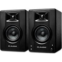 M-Audio BX3 - Enceinte de bureau / de Monitoring Active 120 W pour Gaming, la Production Musicale, le Streaming et le…