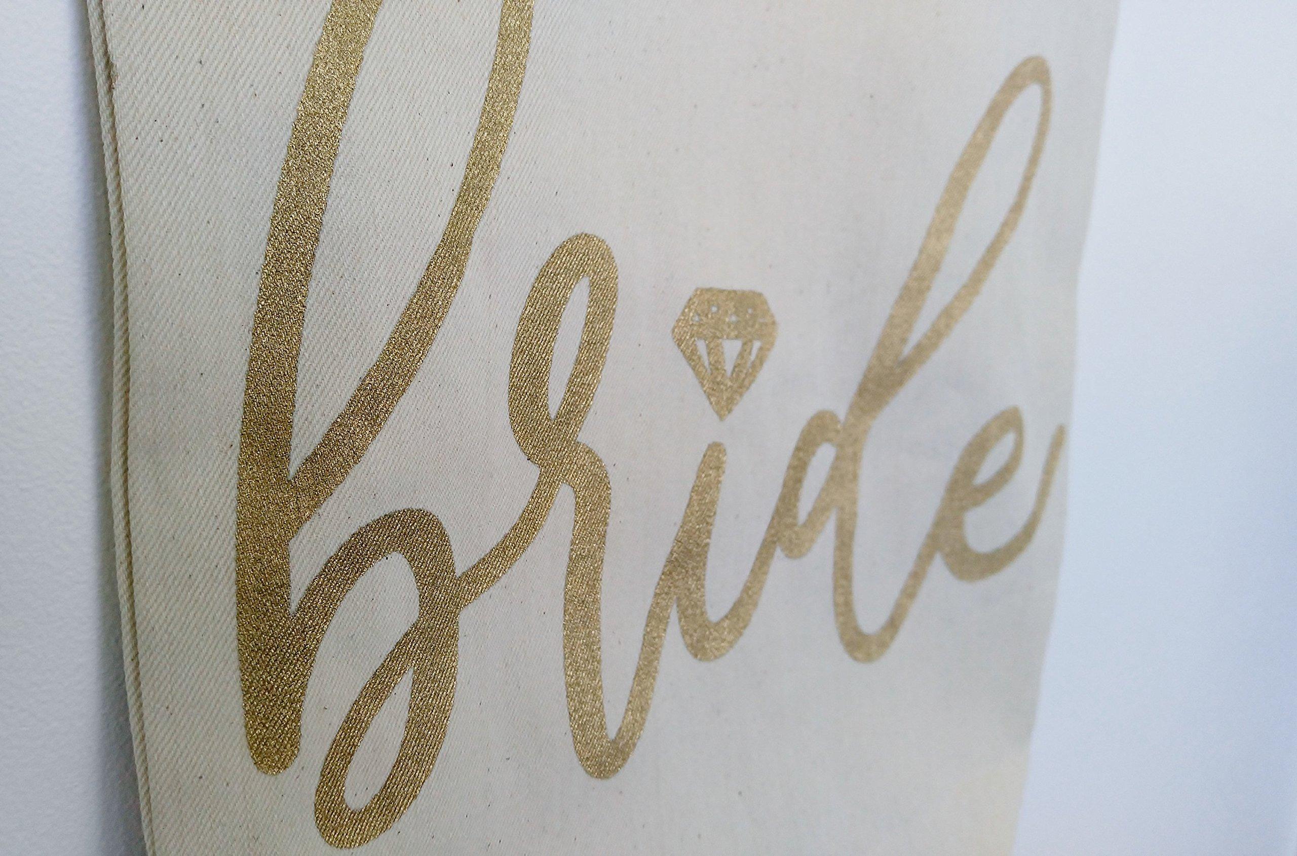 Bride Tote Bag, Honeymoon Bag, Bridal Tote, Bride Gift, Future Mrs Tote, Engagement Gift, Bridal Shower Gift, Bride Bag, Mrs Bag - handmade-bags