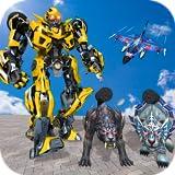 Multi Roboter verwandeln Kampf, Polizei Hund, Tiger & Wildkatze, transformierende Krieg, Roboter Rettung Bots, Kriegstanks vs Roboter Kampf, Katastrophen Dash, Roboter Welt Boxen, Krieg frei besten Roboter, Überlebenstag, echte Mech Roboter, schwarze
