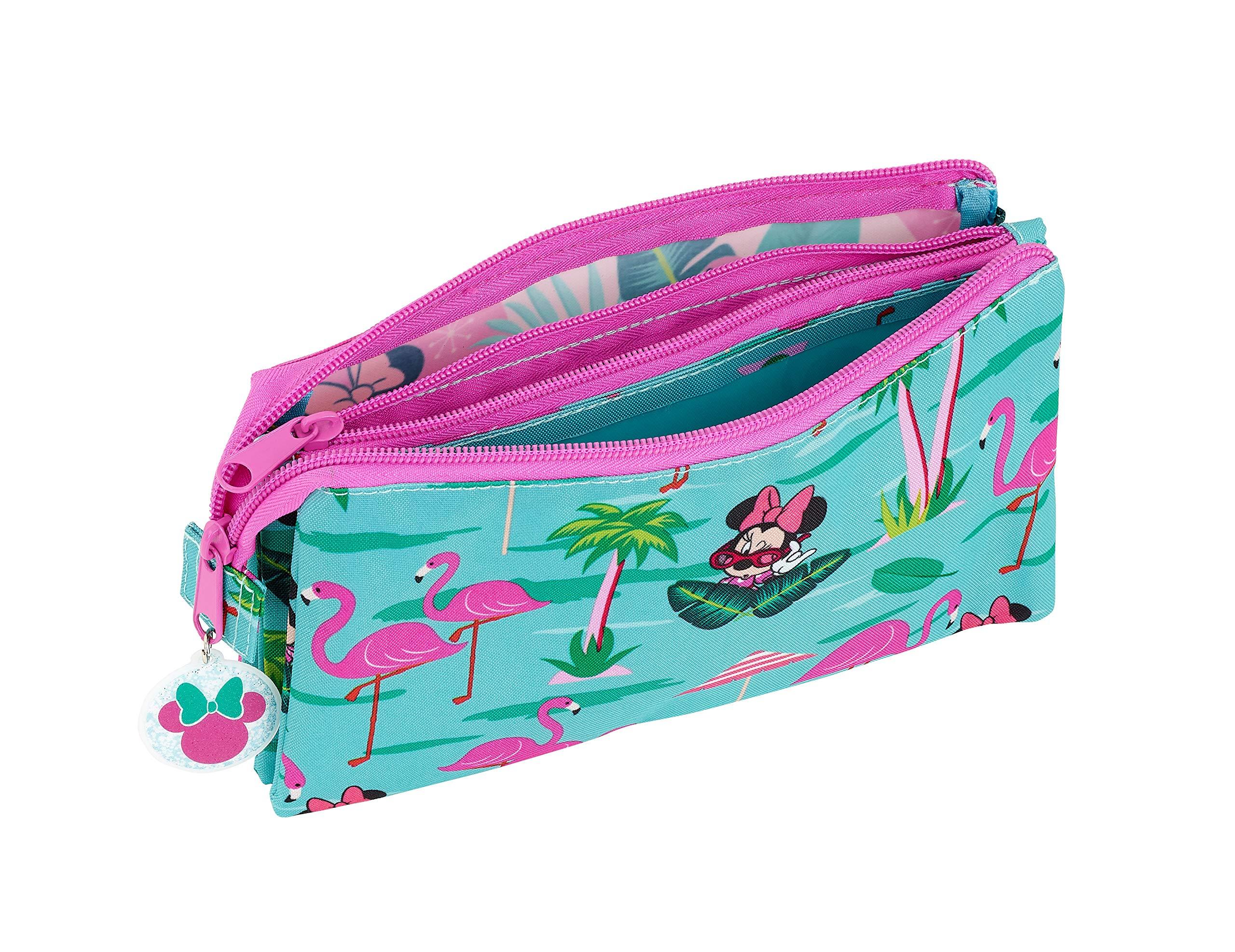 Minnie Mouse «Palms» Oficial Estuche Escolar 220x30x100mm