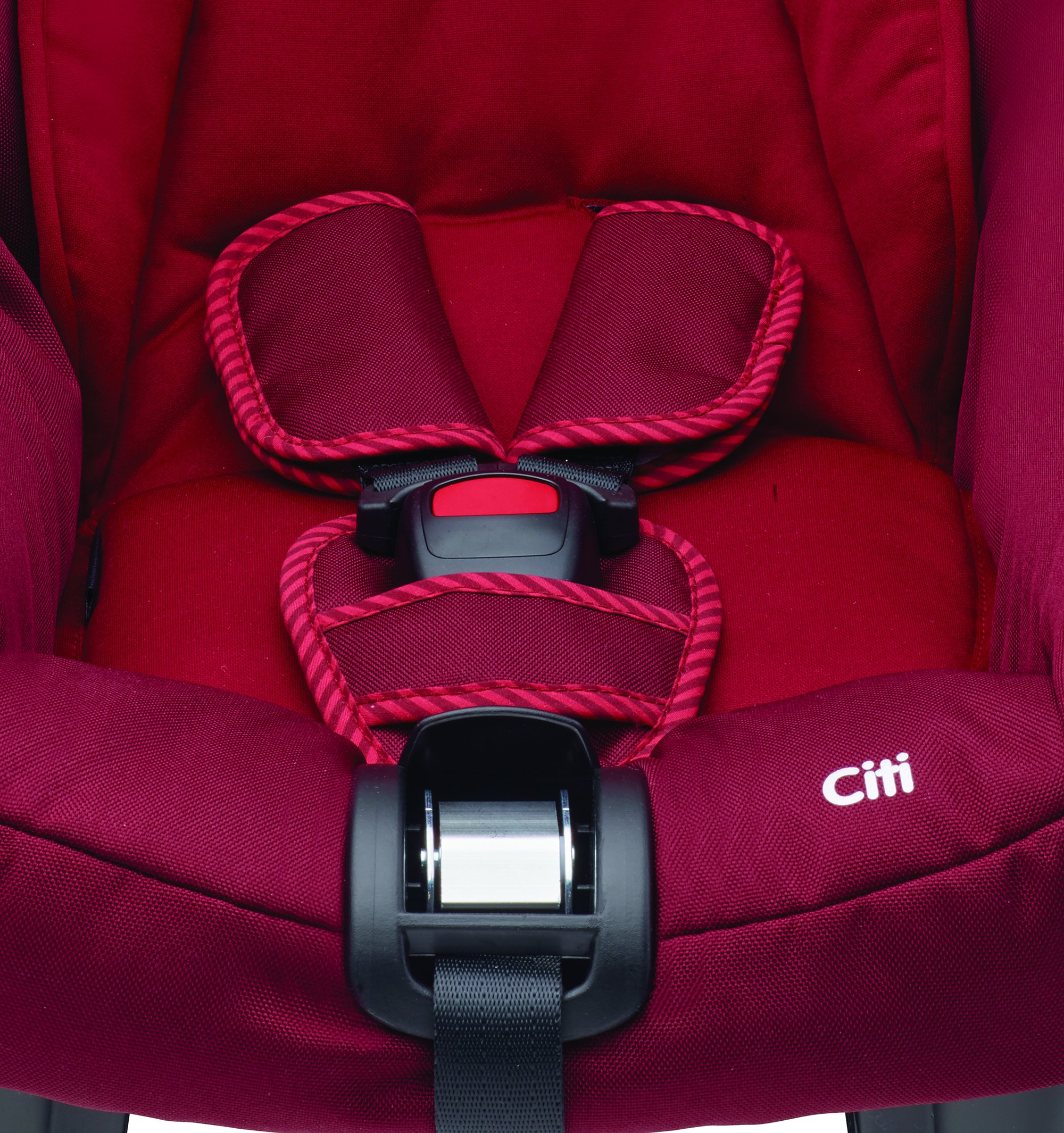 Maxi-Cosi Kinderautositz Citi Robin Red Maxi-Cosi Side protection system, guarantees optimal protection in the event of a side impact Lightweight, light weight and ergonomically shaped safety bar for use as carrying handle Practical travel system 8