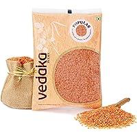Amazon Brand - Vedaka Popular Red Masoor Dal Split, 1 kg