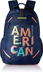 American Tourister Rave 29 Ltrs Ink Blue Casual Backpack (Fi3 (0) 61 003)