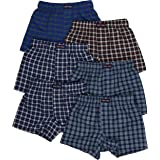 ToBeInStyle Boys' Classic Easy On Comfortable Breathable Boxer Shorts Trunks