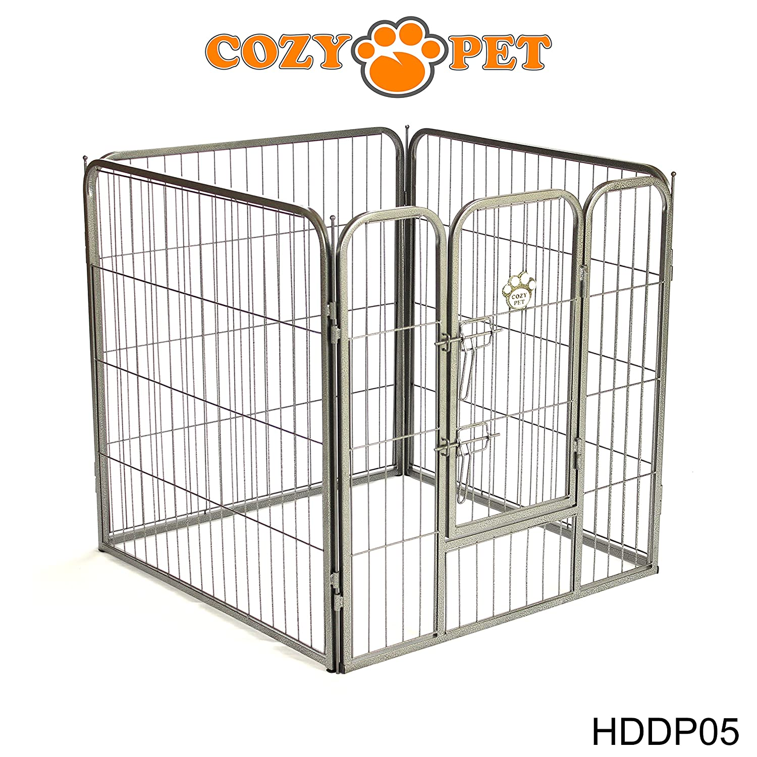 70off cozy pet heavy duty play pen for dogs puppies rabbits guinea pigs puppy playpen whelping pen dog cage puppy crate run 9 sizes available hddp04
