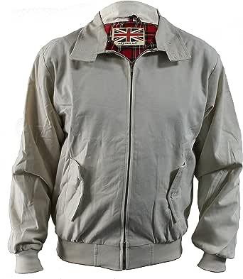 Harrington Jacket Classic/Retro/Mod/Scooter by SKYTEXUK, 10 Colours, Sizes XS - 8XL