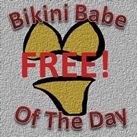 Bikini Babe of The Day (FREE)