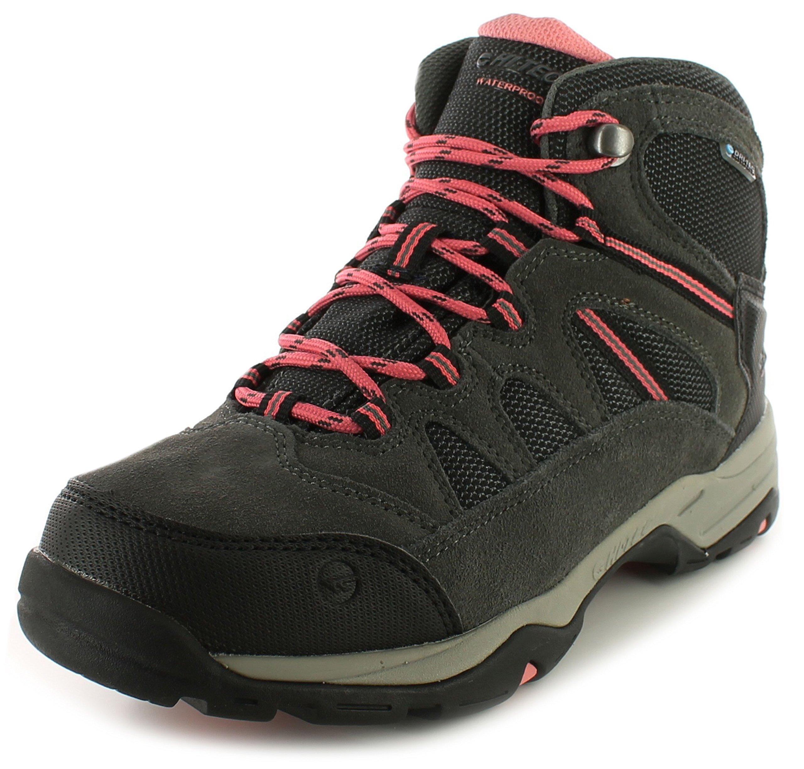 9104pW1sNRL - Hi-Tec Bandera II Mid WP Women's Walking Shoes