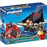 Playmobil - 5238 - Jeu De Construction - Bateau Pirates Avec Moteur Submersible