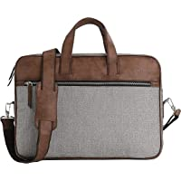 Bennett Mystic PRO 15.6 inch Laptop Shoulder Messenger Sling Office Bag, Water Repellent Fabric for Men and Women (Brown…