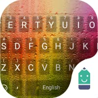 Color Rain Theme&Emoji Keyboard