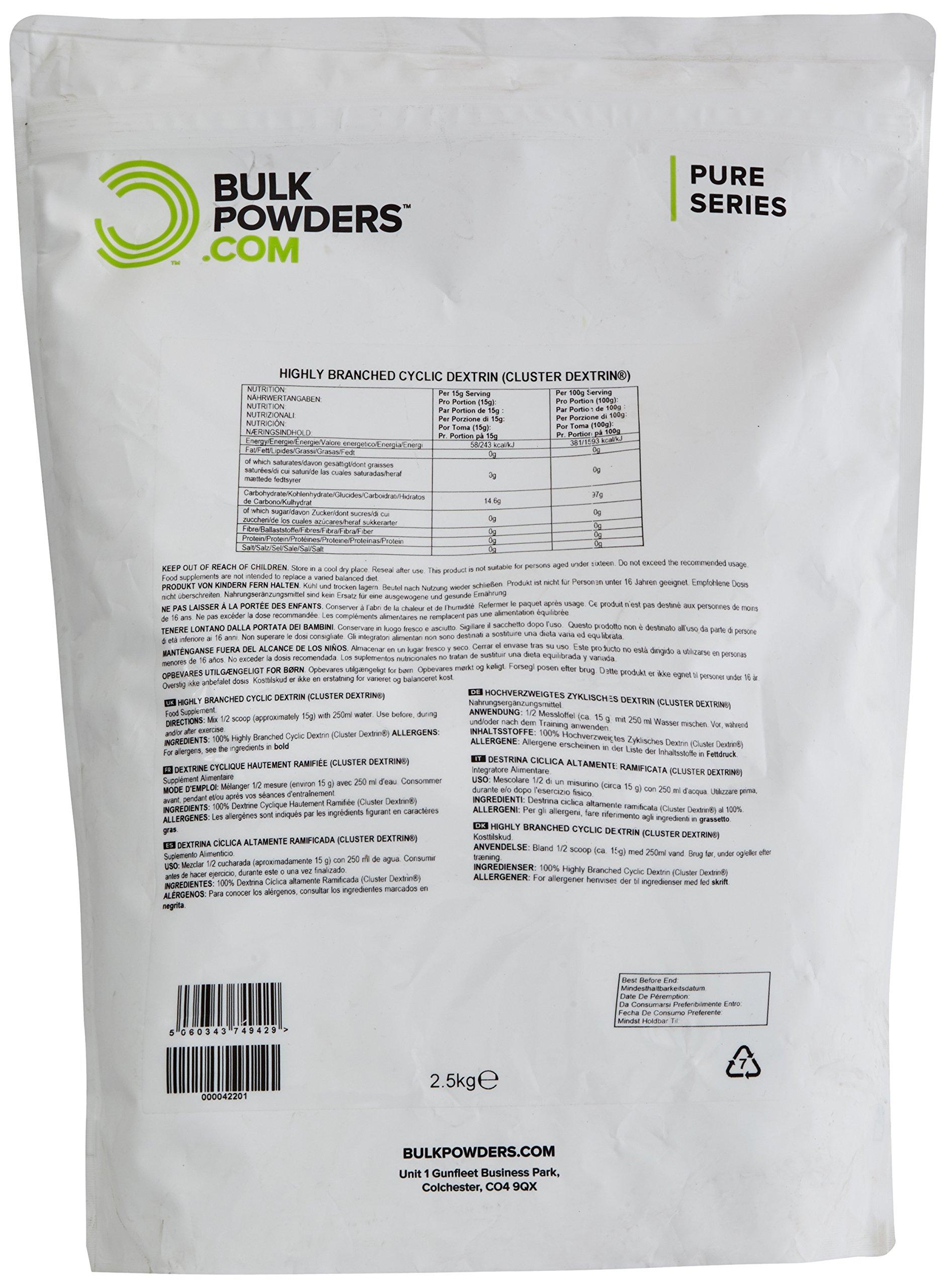 9109gviC9LL - Bulk Highly Branched Cyclic Dextrin Powder, 2.5 kg, Packaging May Vary