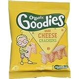 Organix Goodies Mini Cheese Crackers 20 g (Pack of 10)