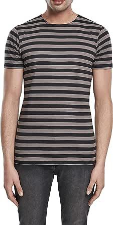 Urban Classics Men's Stripe Tee T-Shirt
